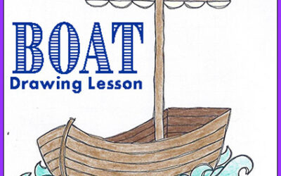 """Drawing Lesson – """"Boat"""""""