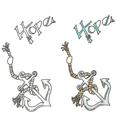 Hope With Anchor