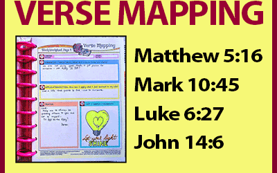 Verse Mapping – August