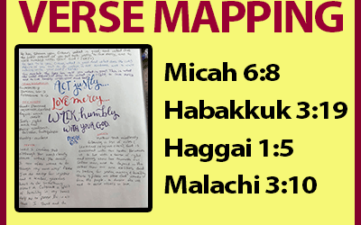 Verse Mapping – July