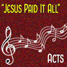 """Jesus Paid It All"""