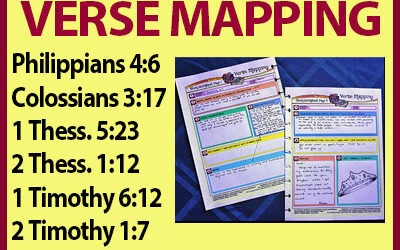 Verse Mapping – October
