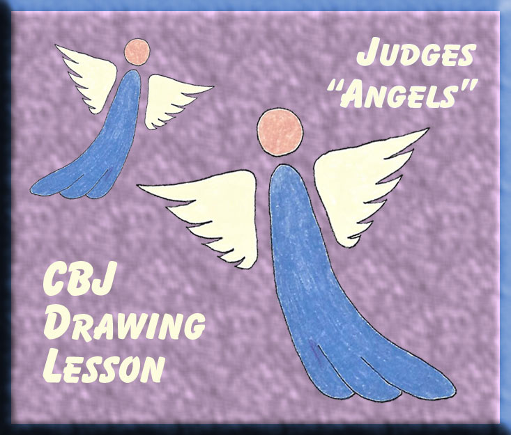 "Drawing Lesson ""Flying Angels"""