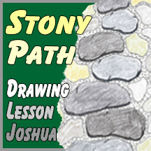 "Drawing Lesson ""Stony Path"""