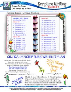 SWD Month 1 Planner