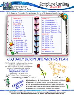 SWD Month 5 Planner