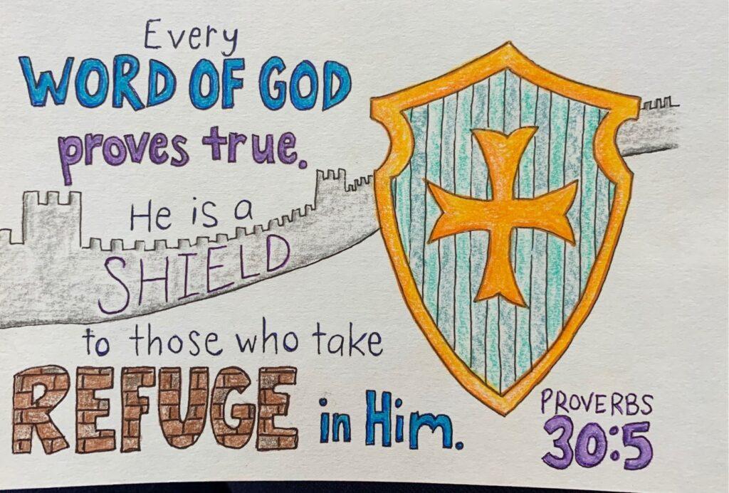 NOG Provverbs 30.5