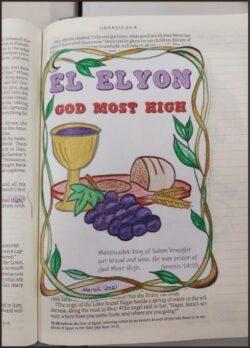 Name of God El Elyon