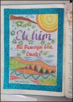 Name of God Elohim