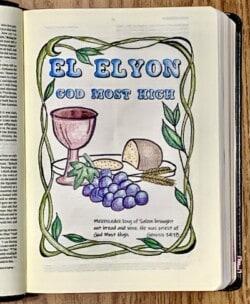 Names of God El Elyon Susan