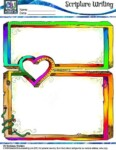 Scripture Writing - Illusions colored Page A