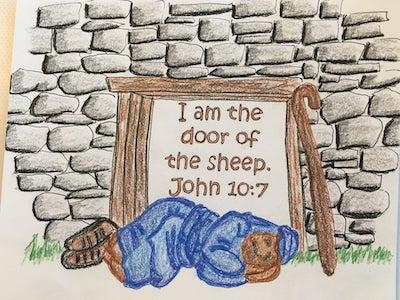 Name of God Door of the Sheep