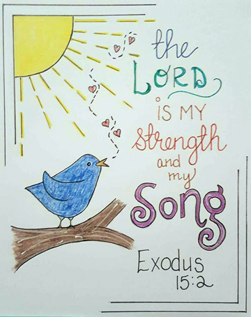 """Tip In Project #31 – """"Strength & Song"""""""