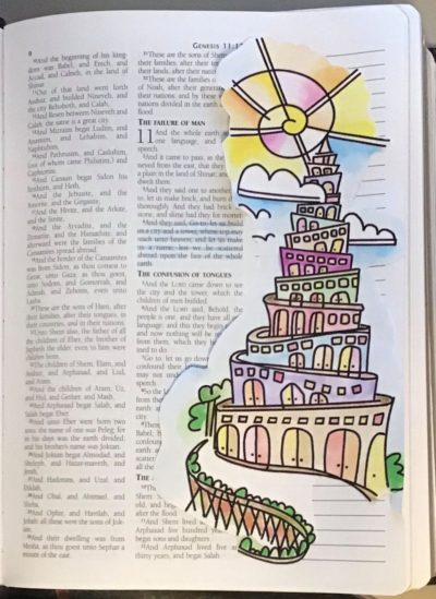 Marla's tower of babel