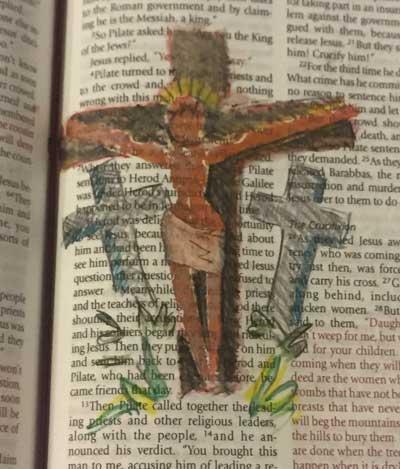 Crucifix Stamp