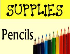 Supplies – PENCILS For Bible Journaling