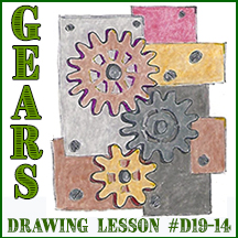 D19-14 Gears SQUARE