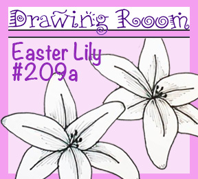 "Drawing Room #209a, ""Easter Lily"""