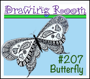 """Drawing Room #207, """"Spring Butterfly"""""""