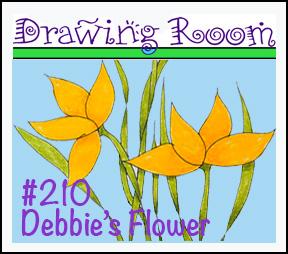 """Drawing Room #210, """"Debbie's Flower"""""""