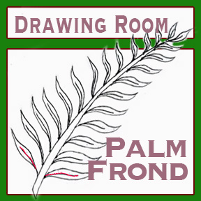 "Drawing Room #208, ""Palm Frond"""