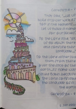 Tower of Babel example.