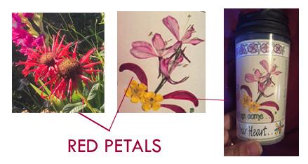 Flower Red Petals Banner jpg