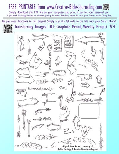 Free Printable Arrow Artwork PDF