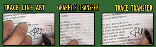 Graphite Transfer - Springy Arrow