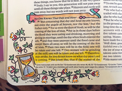 "Highlighting Bible Verses Art with ""In-Line Art"""