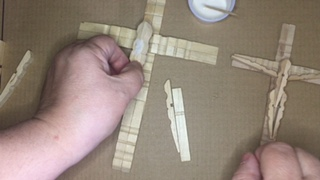 Photo placing the cross.