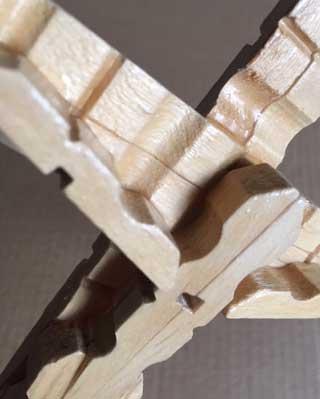 Close up photo of crucifix.