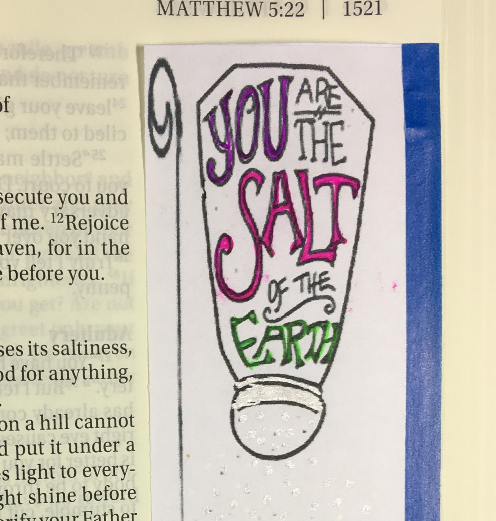 "Tip-In Project #102 – ""Salt & Light"""