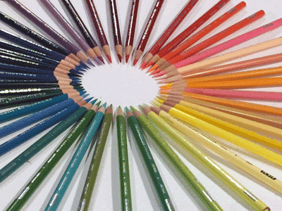 Blending with Colored Pencils
