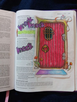 Rev Example Bible Door Closed