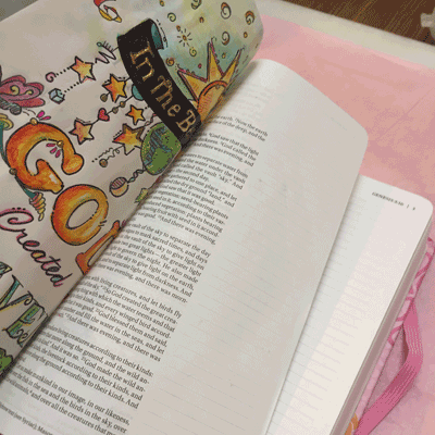 Solution For Tacky Bible Pages –
