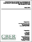 Estimation of  Potential Economization from the Quality Initiatives Related to Perinatal and Antenatal Care