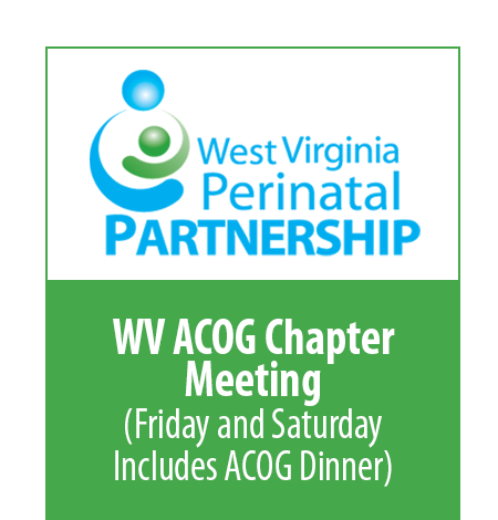 WV ACOG Meeting - Friday/Saturday includes Friday evening dinner