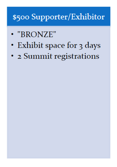 BRONZE - Sponsors and Exhibitors