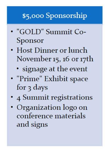 GOLD - Sponsors and Exhibitors