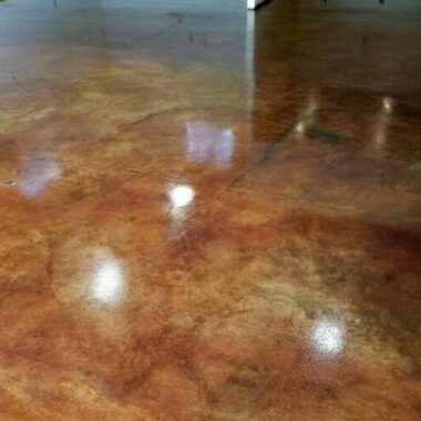 stained concrete floor colorado springs