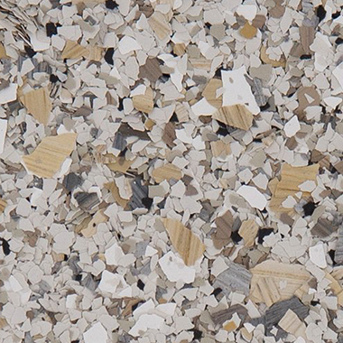 Hybrid Chip Flake epoxy floor