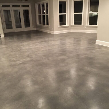 sealed concrete floor colorado springs