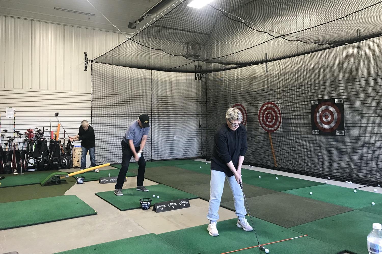 Indoor Golf Practice