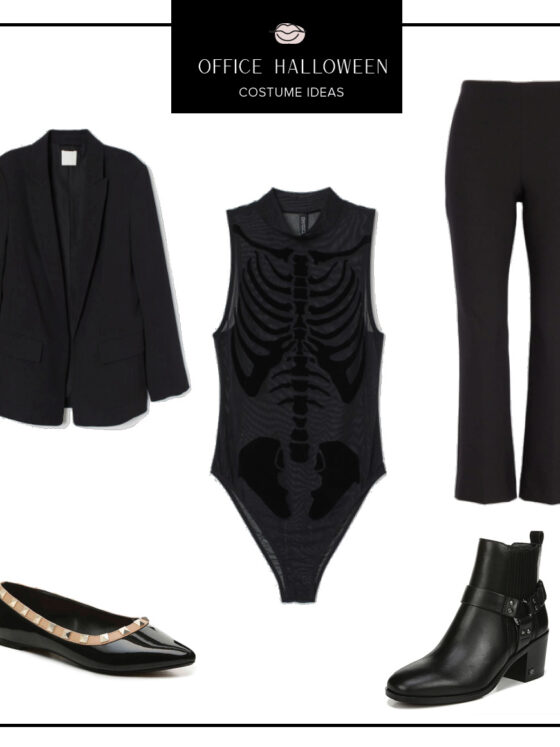 Easy Office Halloween Costumes Ideas featured by top US fashion blog, Never Without Lipstick | office halloween costumes ideas, easy halloween costumes, quick halloween costumes, work halloween costumes