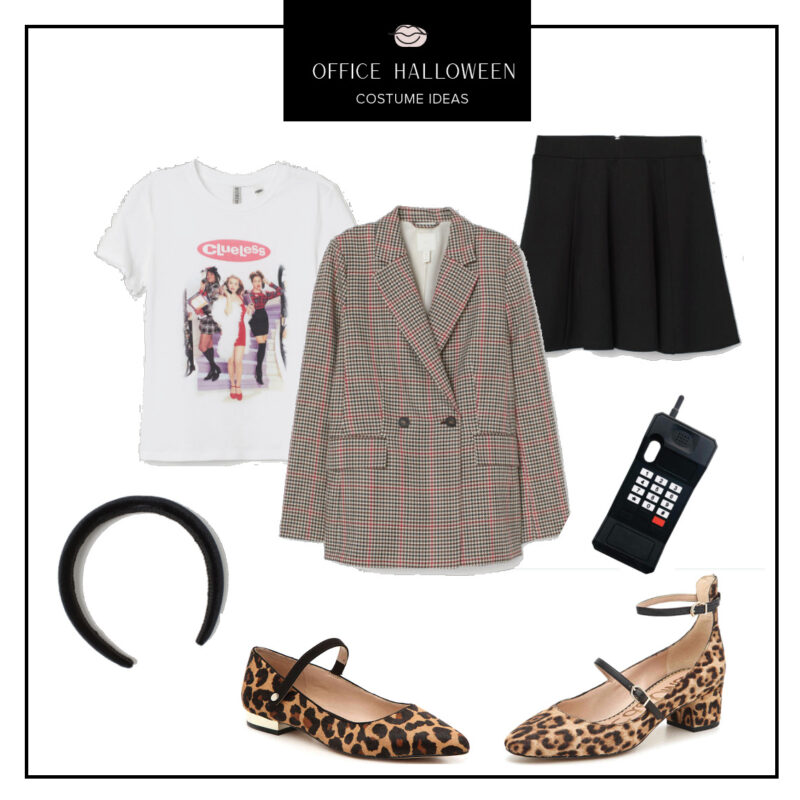 Easy Office Halloween Costumes Ideas featured by top US fashion blog, Never Without Lipstick: Blair Waldorf | office halloween costumes ideas, easy halloween costumes, quick halloween costumes, work halloween costumes, easy clueless costume, blair waldorf costume