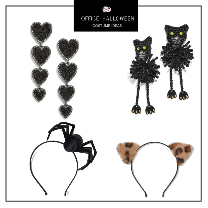 Easy Office Halloween Costumes Ideas featured by top US fashion blog, Never Without Lipstick: Halloween Accessories | office halloween costumes ideas, easy halloween costumes, quick halloween costumes, work halloween costumes, halloween accessories