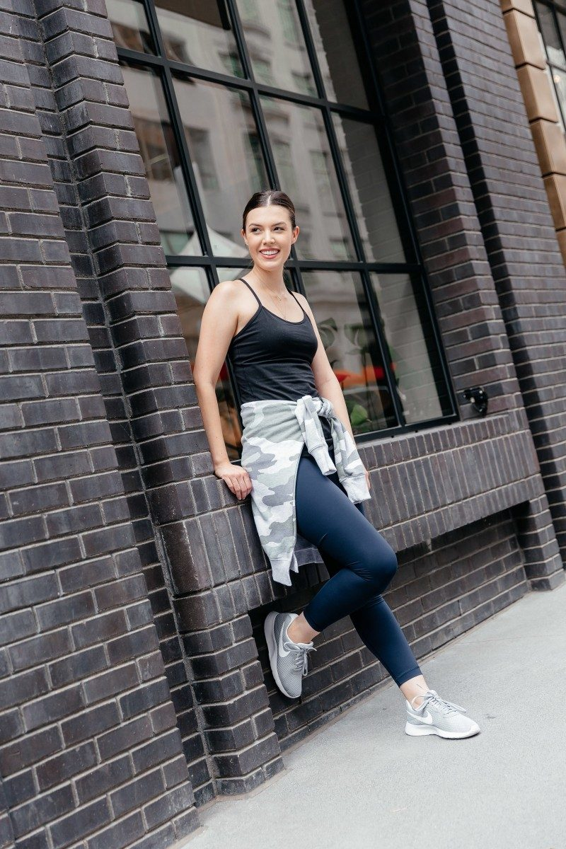 Pilates Barre Studio review featured by popular Dallas life and style blogger, Never Without Lipstick