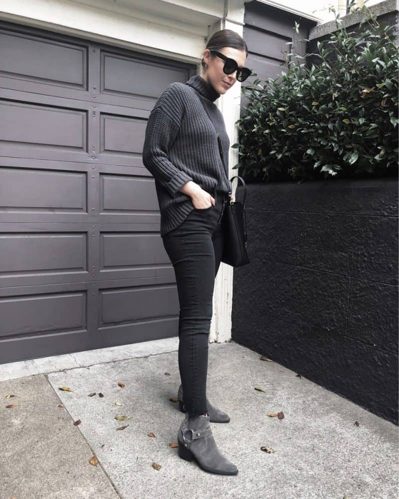 Popular travel blogger, Never Without Lipstick, shares her list of the best things to do in San Francisco | turtleneck sweater outfit, madewell jeans, western booties outfit, celine sunglasses, san francisco itinerary| Best Things to Do in San Francisco over a 4 Day Weekend featured by top Dallas travel blog, Never Without Lipstick