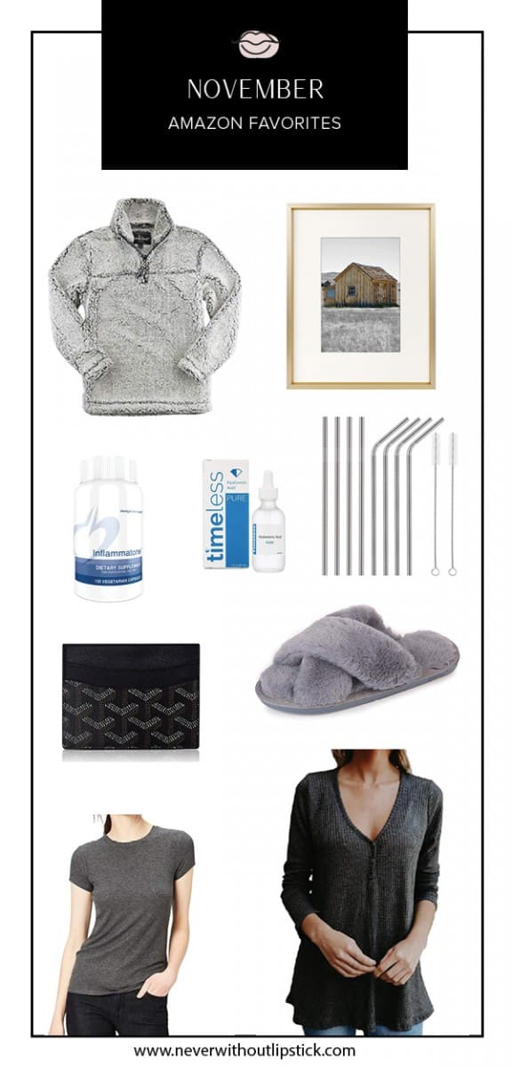 amazon things to buy on, amazon finds, amazon clothes, amazon beauty, amazon fashion   Amazon Favorites featured by top Dallas fashion blog, Never Without Lipstick
